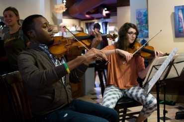 Classical Revolution Madison at Fair Trade Coffeehouse CR Tori Rogers