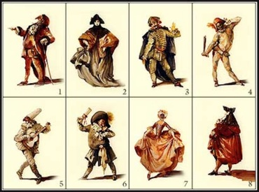 commedia dell'arte cast