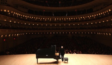 Jeremy Denk in Carnegie Hall