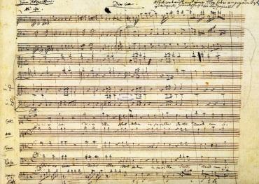 Mozart Requiem mss Dies Irae K626 Requiem Dies Irae