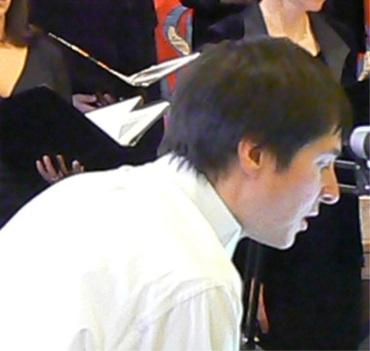 Robert Gehrenbeck conducting