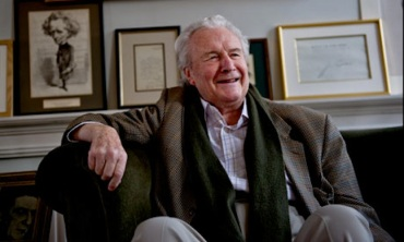 Sir Colin Davis at home