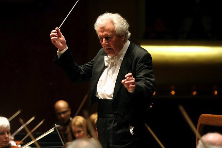Sir Colin Davis conducting