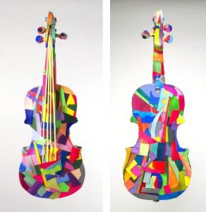Velliquette Violin Front & Back