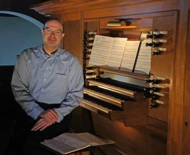 Carson Cooman and organ