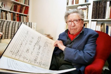 Henri Dutilleux i 2005 Jean-Pierre Muller Getty Images
