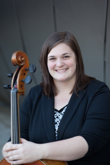 Alison Rowe with cello