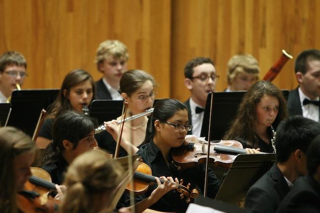 MAYCO orchestra close up