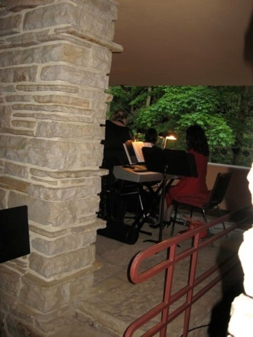 Musicians at Fallingwater