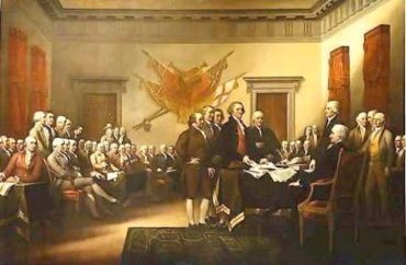 American Declaration with founders 5