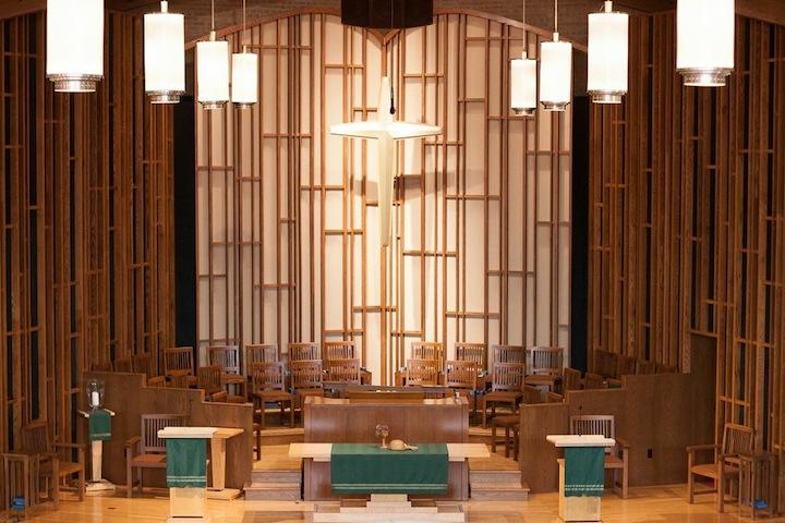 Covenant Presbyterian Church chancel