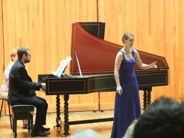 Handel arias Alison Wahl