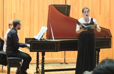 Handel arias Chelsea Morris