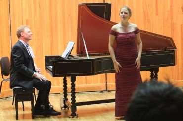 Handel arias Elisa Sutherland
