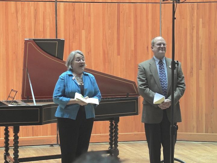 Handel arias Paul and Cheryl Rowe