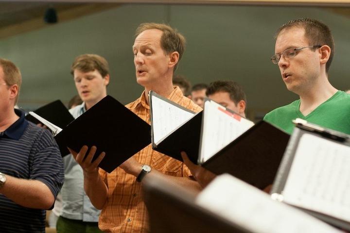 Isthmus vocal Ensemble men