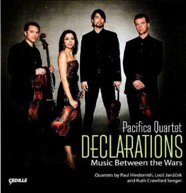pacifica quartet %22declarations%22 CD