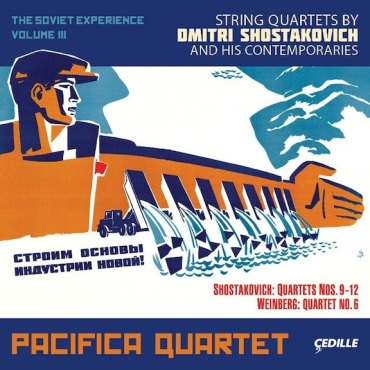 Pacifica Quartet Soviet Vol 3
