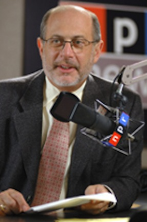 robert siegel in npr studio