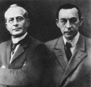 Alexander Siloti and Sergei Rachmaninov