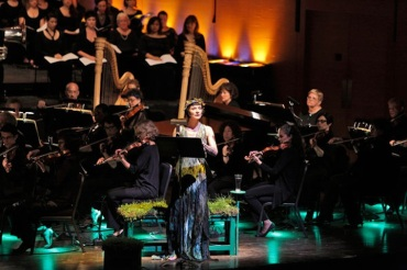 Bard Music Festival 2013 Stravinsky's %22Persephone%22 with Jean Stilwell as narrator and the American Symphony Orchestra CR Cory Weaver NYT