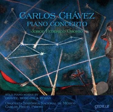 Chavez PIano Concerto CD