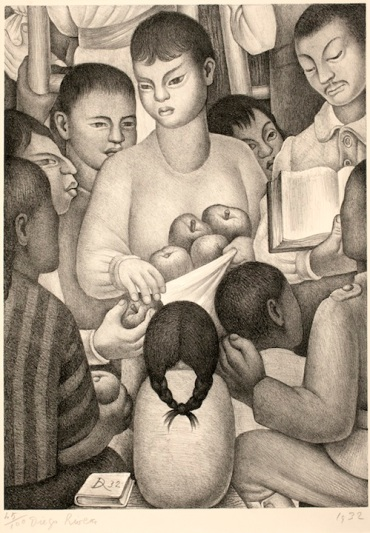 Diego Rivera The Fruits of Labor