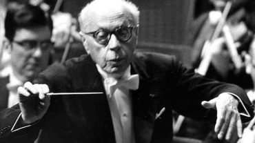 George Szell wide BW