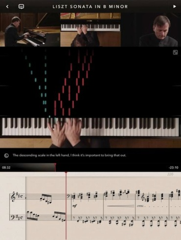 liszt sonata stephen hough app