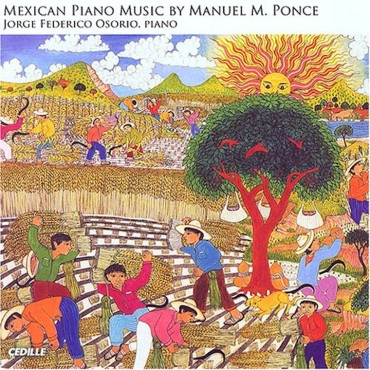 Manuel Ponce piano CD cover