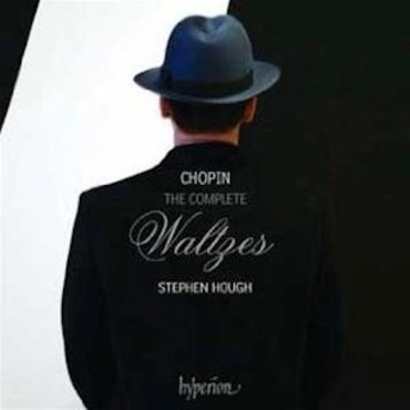 Stephen Hough Chopin waltzes CD cover