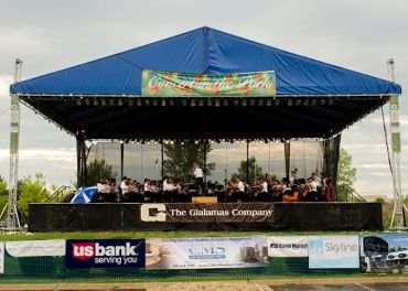 WYSO Concert  the Park Tent 4