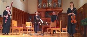 Ancora Quartet with bassoonist Carol Rosing CR John W. Barker