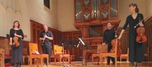 Ancora Quartet with clarinetist Christian Ellenwood CR John W, Barker - Version 2
