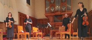 Ancora Quartet with clarinetist Christian Ellenwood CR John W, Barker - Version 2