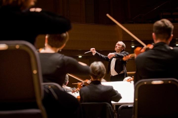 John DeMain conducting MSO CR Greg Anderson