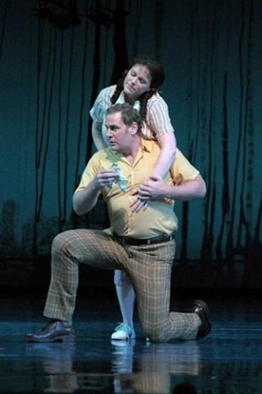 Sam Handley in Britten A Midsummer Night's Dream at the Lyric Opera of Chicago