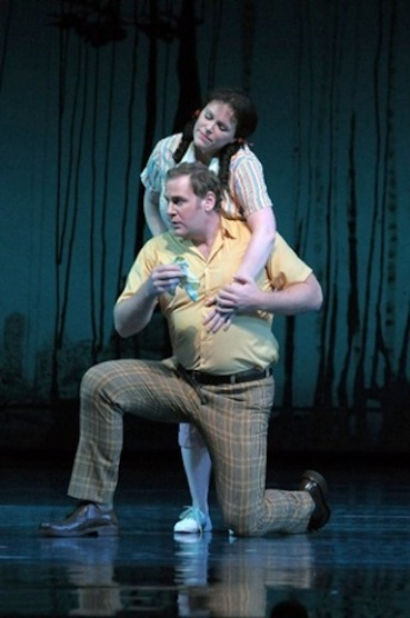 Sam Handley in Britten A Midsummer Night's Dream at the Lyric Opera of Chicago