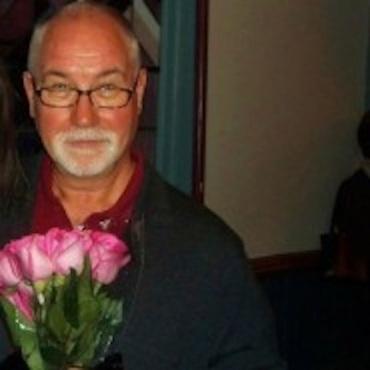 William Farlow witn roses