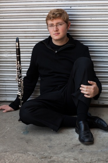 Joseph Morris principal clarinet MSO