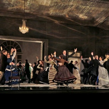 Met Eugene Onegin ball