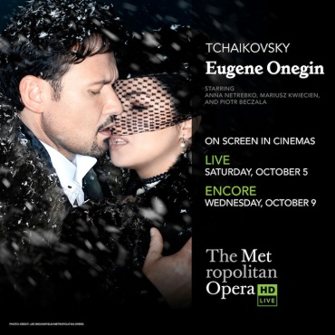 Met Live Eugene Onegin poster