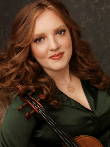 Rachel Barton Pine portrait