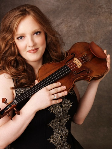 Rachel Barton Pine with violin
