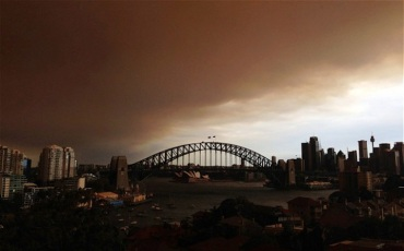 sydney fires ash cloud The Telegraph