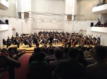 UW Symhony Orchestra 2013 CR John W. Barker