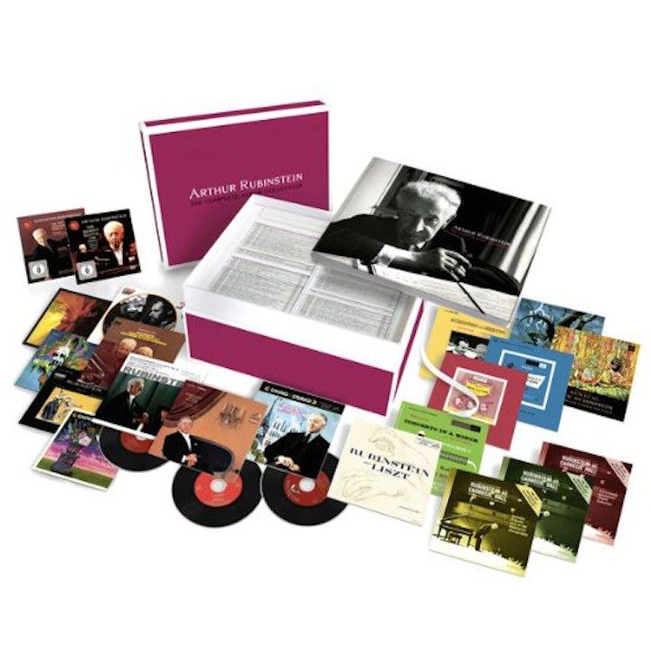 Arthur Rubinstein CD box set
