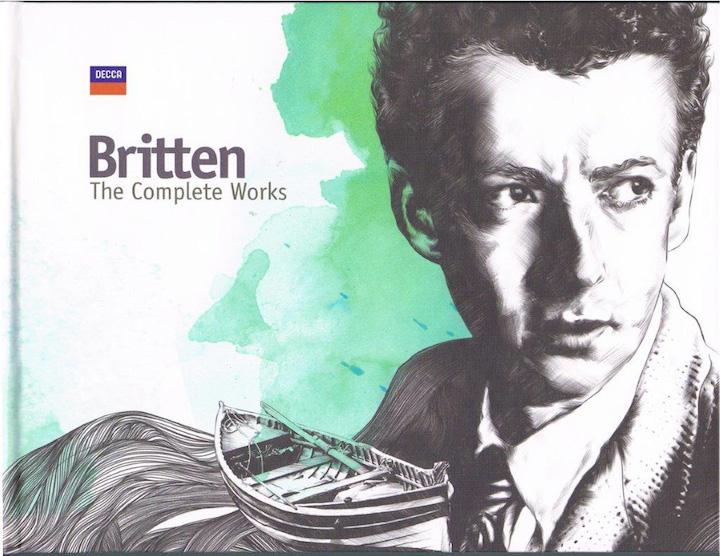 Benjamin Britten Complete CD set