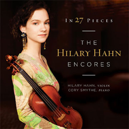 Hilary Hahn Encores CD cover