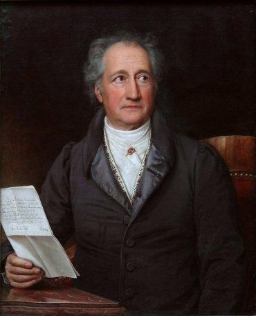 Johann Wolfgang von Goethe in 1828